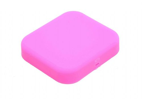 Silicone Lens Cover Protective Cap compatible with GoPro Hero 5 & 6 Colour Pink